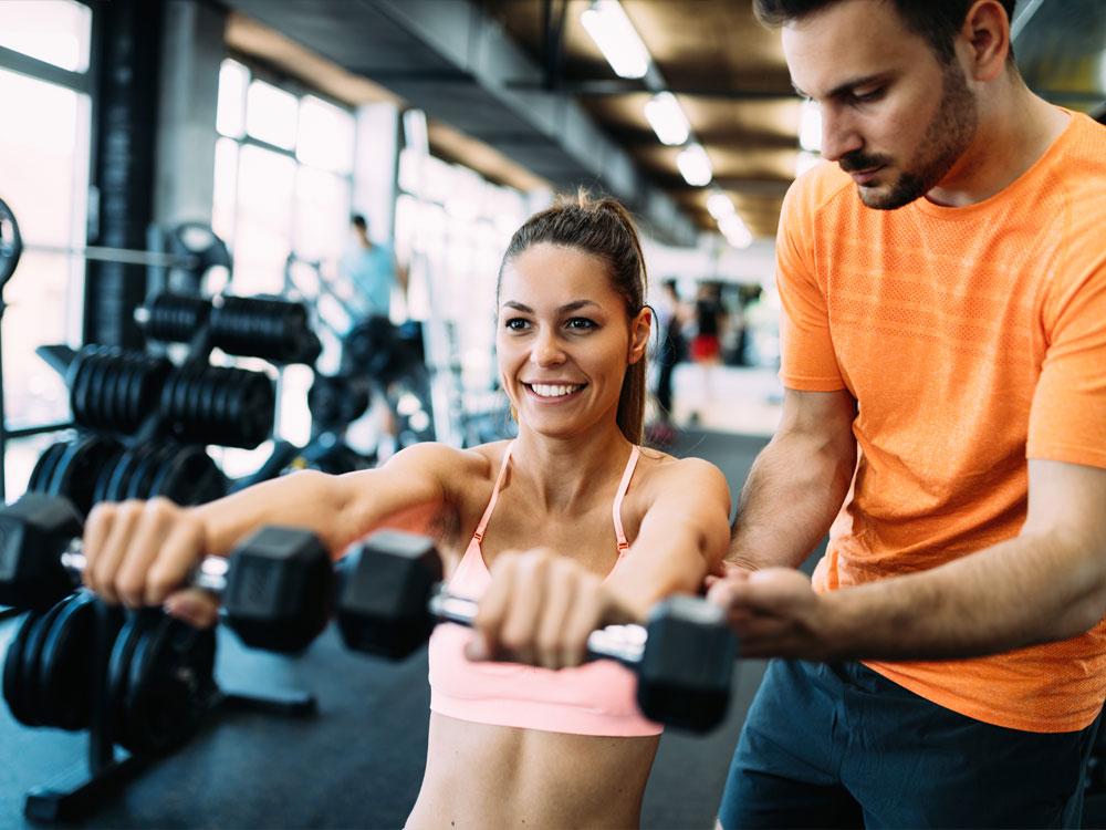 Woman Bodybuilding
